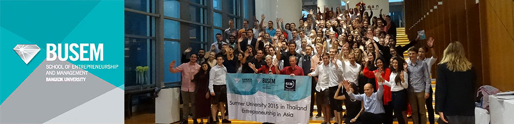 Summer University in Thailand: Entrepreneurship in Asia and Cross-cultural Communication